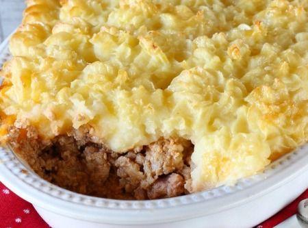 Cream Of Mushroom Soup Meat And Potatoe Pie Recipe Recipe Meat And Potatoes Recipes Creamed Mushrooms Potato Pie