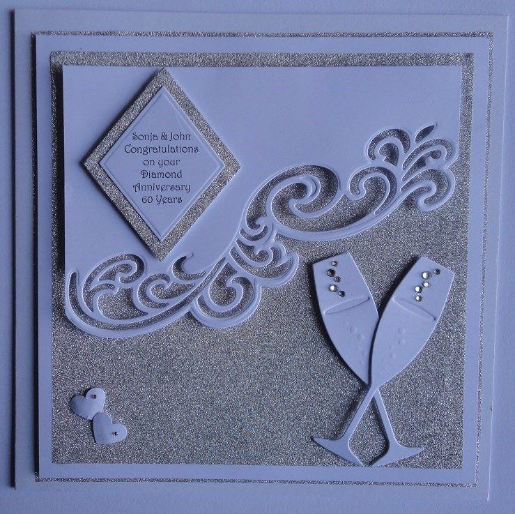 Wedding Cards Ideas To Make: Diamond Wedding Anniversary