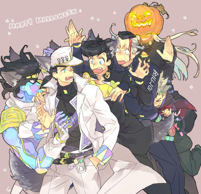 Happy Halloween Jojo S Bizarre Adventure Anime Jojo Bizzare Adventure Jojo Anime