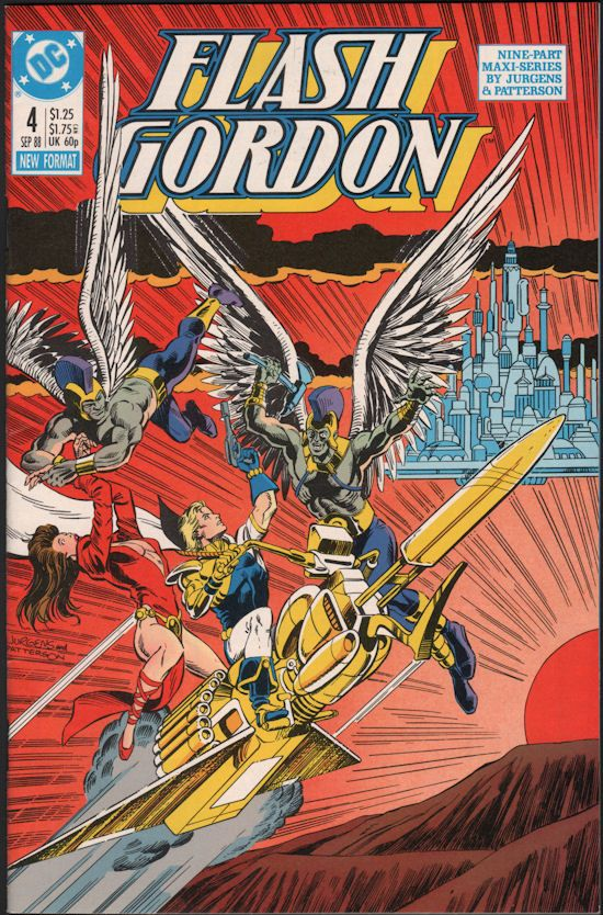Flash Gordon Comic #4 - (1988)