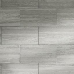Wickes Everest Slate Porcelain Tile 600 x 300mm | Bathroom ...