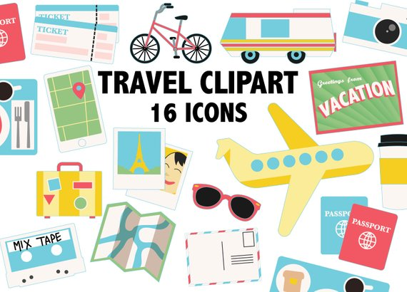 Set of travel adventure icons and elements - Download Free Vectors, Clipart  Graphics & Vector Art