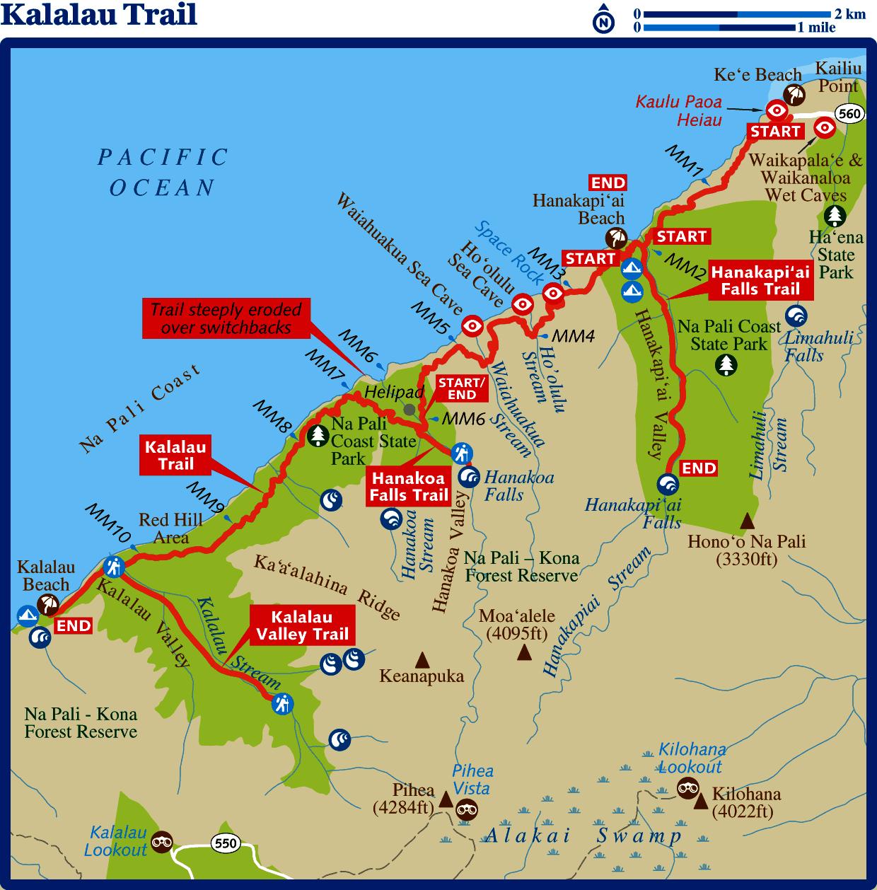 Cruise To Hawaii From California: Kalalau Trail « Sunfellow Productions • Sedona, Arizona