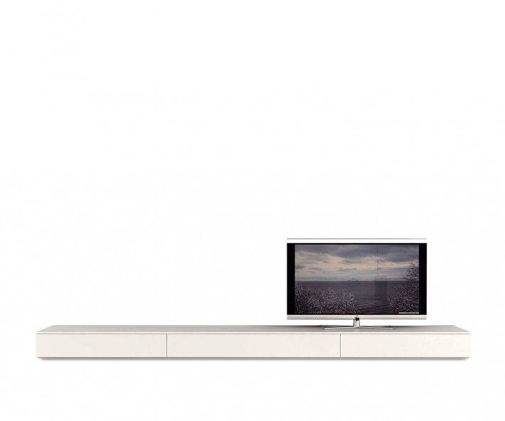 Lowboard design möbel weiss  Novamobili TV Lowboard B 300 cm | Lowboard, Wohnzimmer und ...