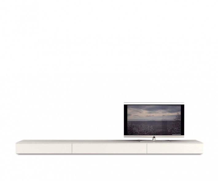 Tv lowboard design  Novamobili TV Lowboard B 300 cm | Lowboard, Wohnzimmer und ...