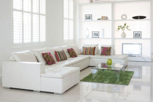 Pur Weisses Wohnzimmer Und Minimalismus 20 Moderne Wohnideen