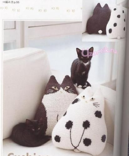 игрушки - японские кошки