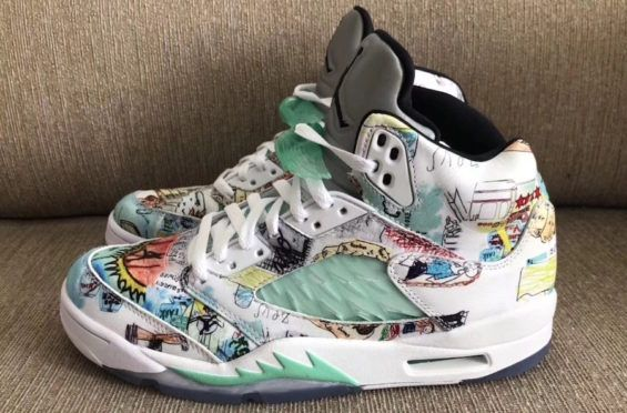 quality design d2b8b 9007a What Would You Rate The Air Jordan 5 Wings  The Air Jordan 5 Wings is