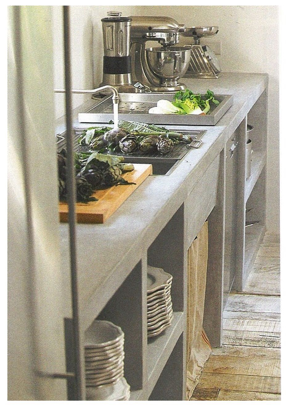 39 Minimalist Concrete Kitchen Countertop Ideas Concrete Kitchen