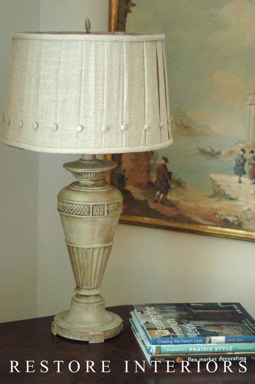 Nice Lamp Make Over Cute Shade From Hobby Lobby Lampshade