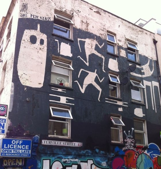London photo of the day: East End street art 23