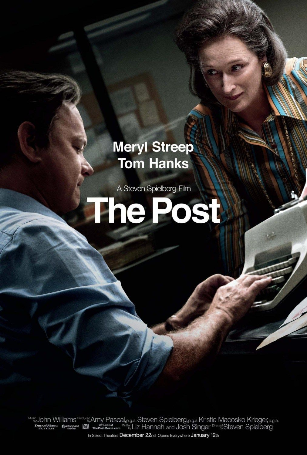 Post, The (M) Available 15 April – outdoor from 15 July 2018. The ...