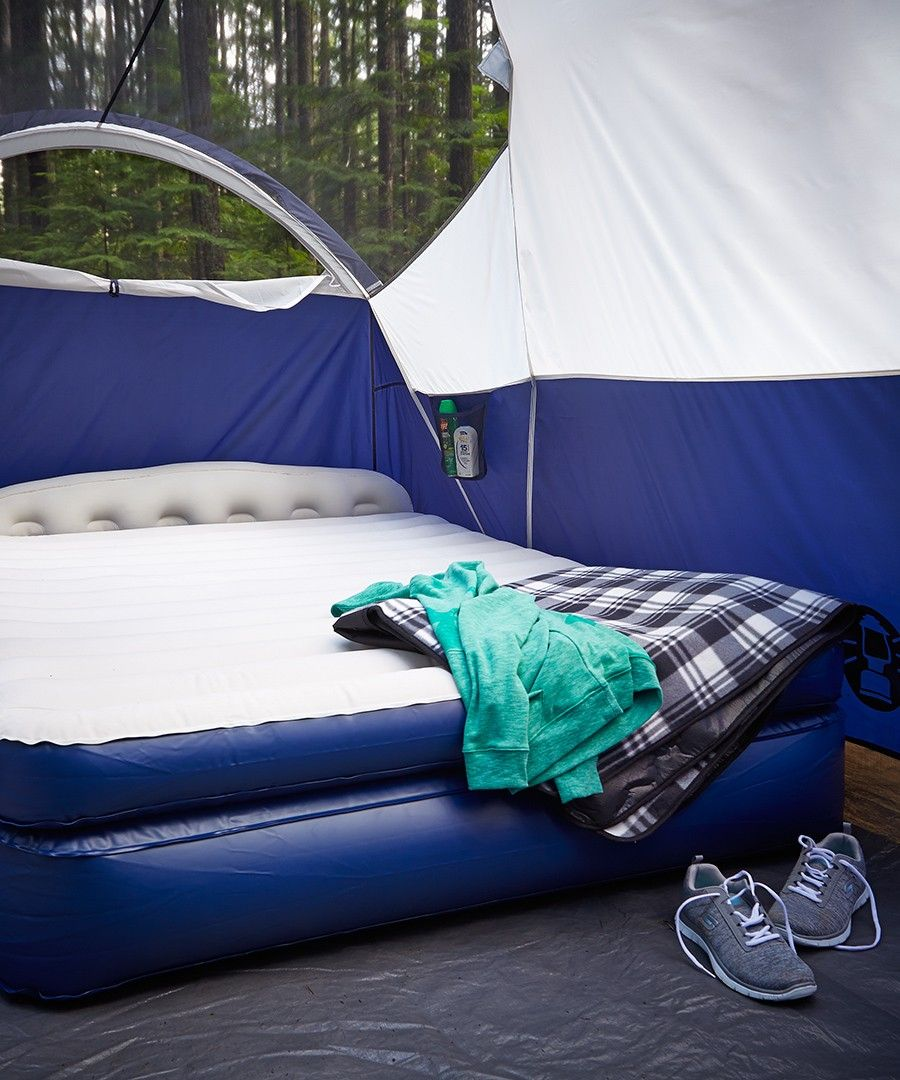 Comfort Camper Aerobed Queen Rollaway with Headboard
