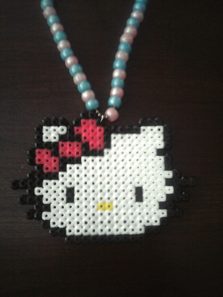 Hello Kitty Necklace by Dat-Boi-T on DeviantArt
