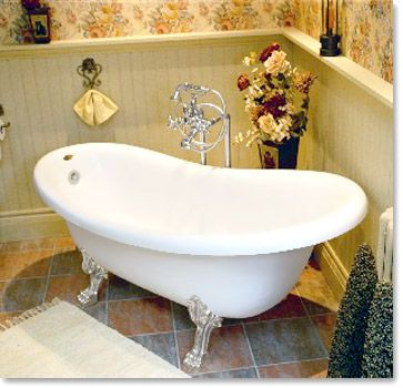 clawfoot tub with jets. I want to have a Clawfoot tub  For the Home Pinterest Tubs