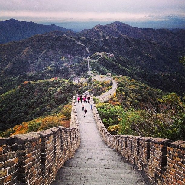 Great Wall of China. Tick that one off the bucket list! @annika_thorn on Instagram #china #wall #travel