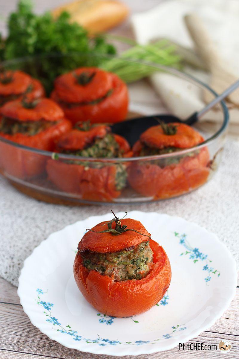 Tomates farcies faciles et rapides   Recette   Recette ...