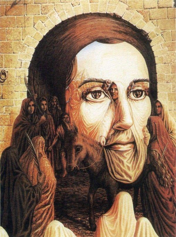 Biografia Jesus De Nazaret Llegada Arte De La Ilusión óptica Arte De Ilusión Producción Artística