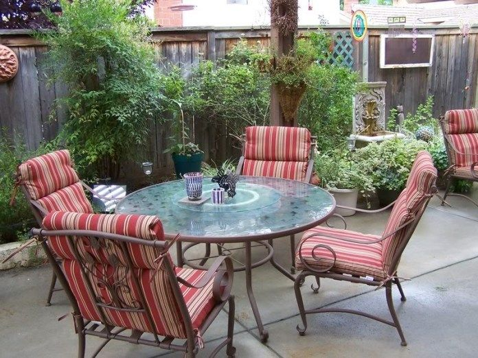 Painted Outdoor Furniture, Better Homes And Gardens Patio Furniture Cushions