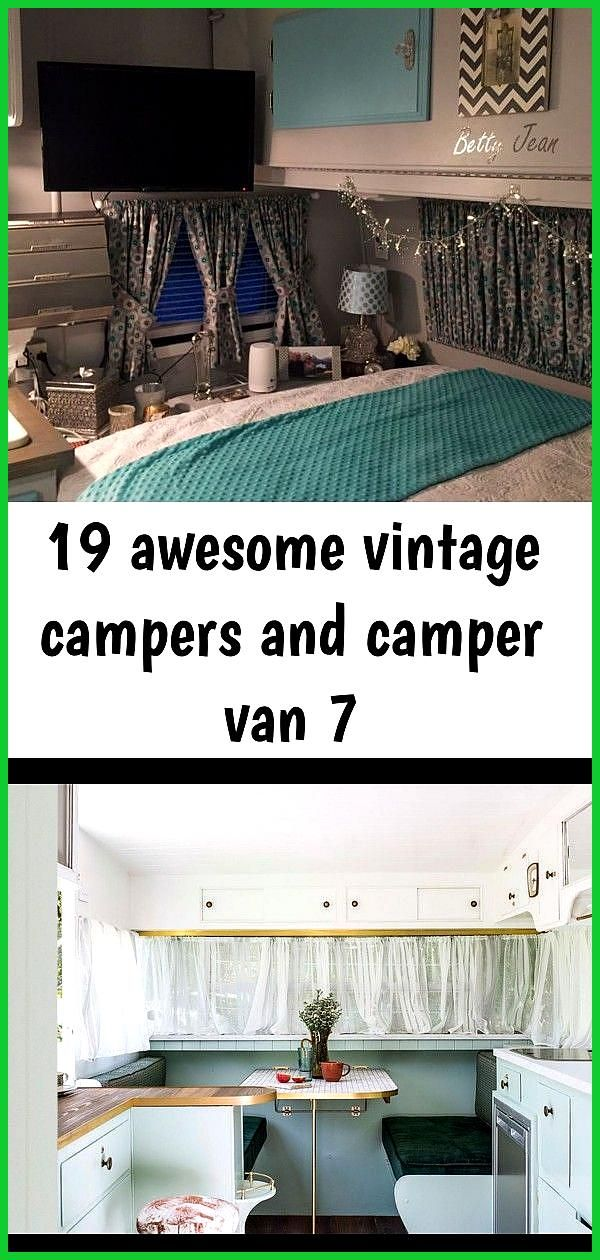 19 awesome vintage campers and camper van 7 19 Awesome Vintage Campers and Camper Van  vintagetopia