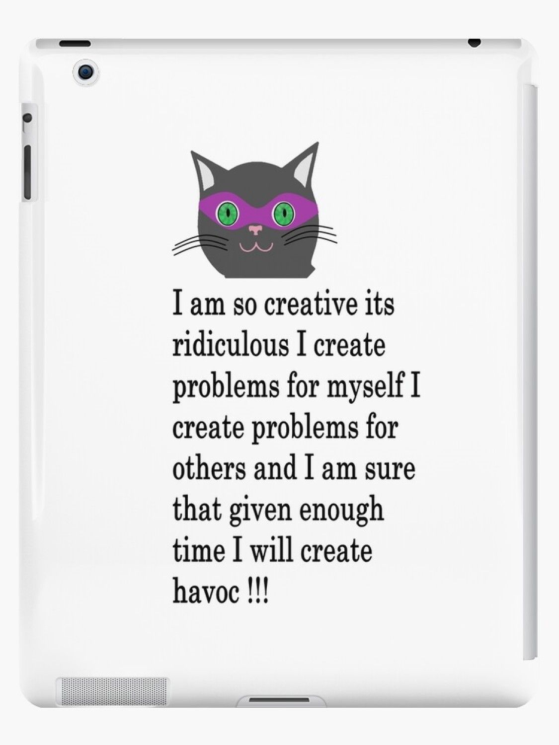 Ipad Case Cat Funny Quotes Humor Hilarious Memes Cute Kittens Sarcastic 3 Cat Quotes Funny Funny Cats Cute Kittens Images