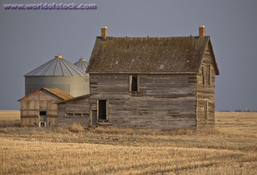 Abandoned Farm House,  Saskatchewan