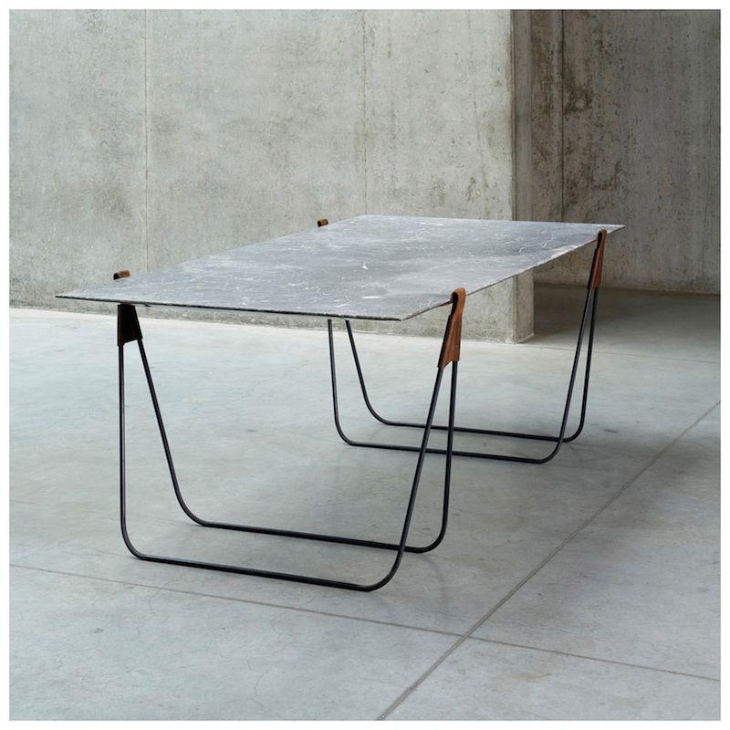 Vomo Trestle Table Marmeren Tafels Schraagtafel Tafelpoten