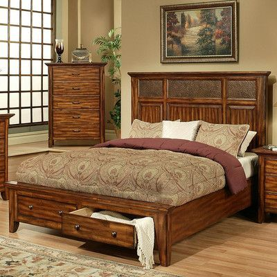 Captivating AYCA Furniture Marissa Platform Bed Size: California King