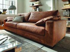 Eines unserer beliebtesten Leder-Sofas. Große Auswahl an Designer ...