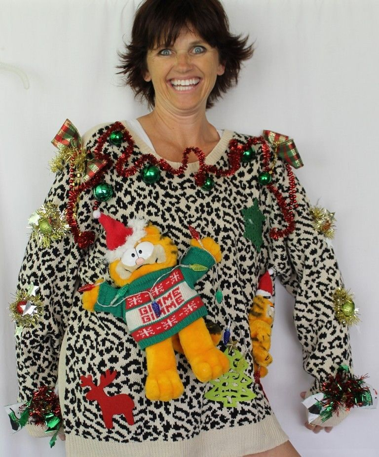 3x Ugly Christmas Sweater.Deb Rottum S Tacky Ugly Christmas Sweater Women S Size 3x 22