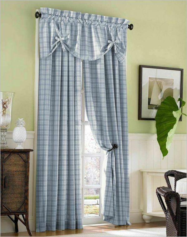 Landhaus Gardinen für eine gelassene Stimmung in Ihrem Zuhause ...