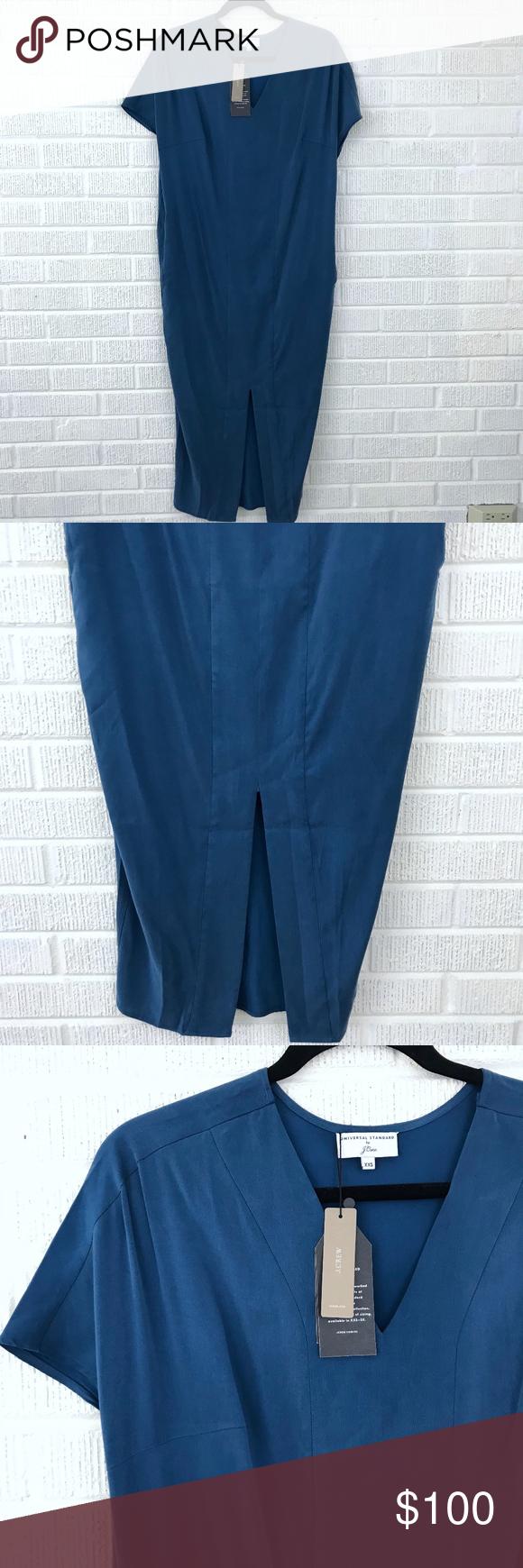62b62e1c06c Universal Standard for J.Crew Cupro Tunic Dress Universal Standard for J.Crew  Cupro Tunic Dress - Universal Standard for J.Crew - Cupro Tunic Dress -  Style ...