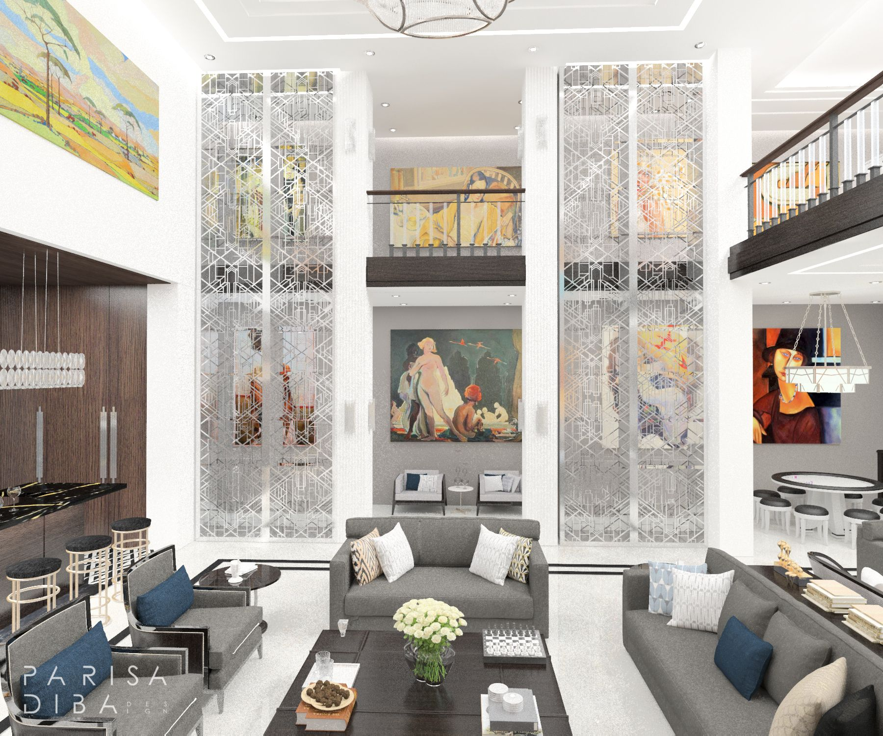 Photo of Art Deco Erholungsraum Design Art Deco Bar Design Art Deco Innenarchitektur Art Deco Stil Idee