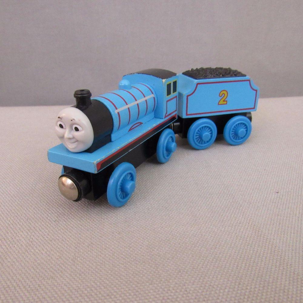 Thomas Friends Train Edward And 2 Tender Wooden Railway Brio