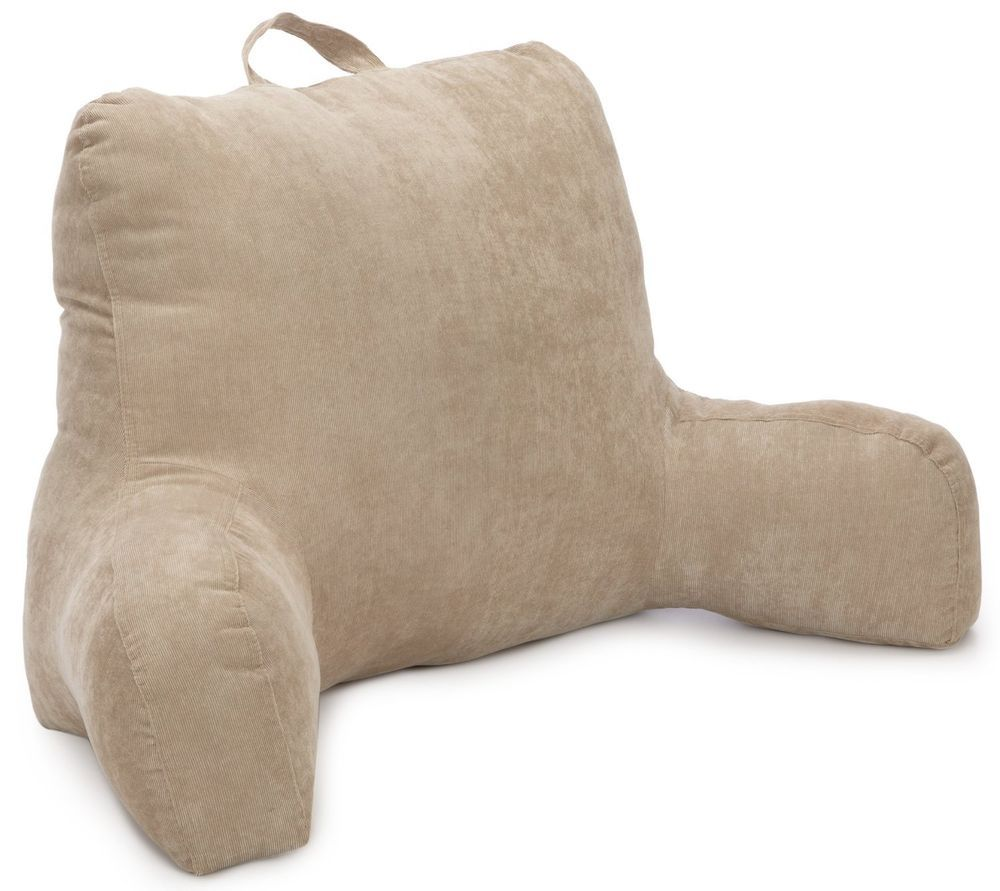 Corduroy bed rest pillow - Brentwood 557 Corduroy Bedrest Tan Comfortable Sturdy Portable Imported Brentwood