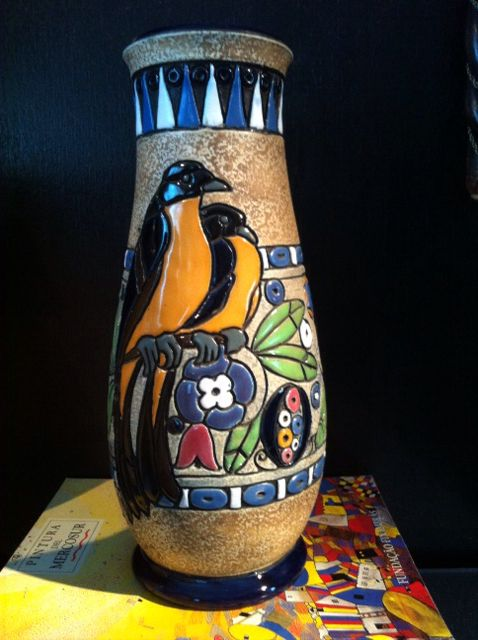 Amphora Vase Pottery Pinterest Art Deco And Pottery