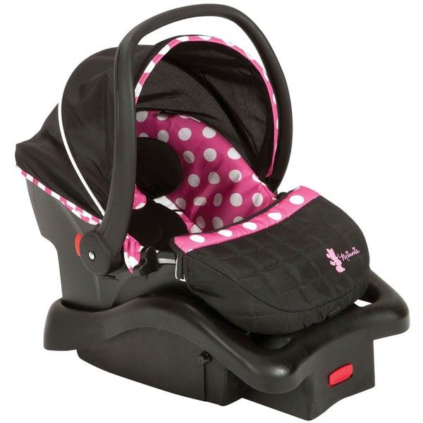 Disney By Dorel Light N Comfy Infant Car Seat Minnie Dot Liked On Polyvore Featuring Baby Stuff Girl And Carseats