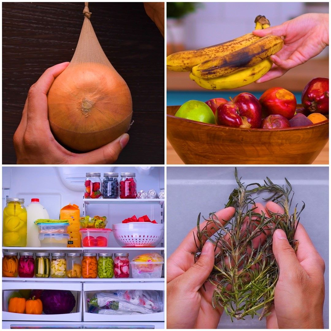 Save your food AND your money with these 18 preservation hacks!  #cookingandhouseholdhints
