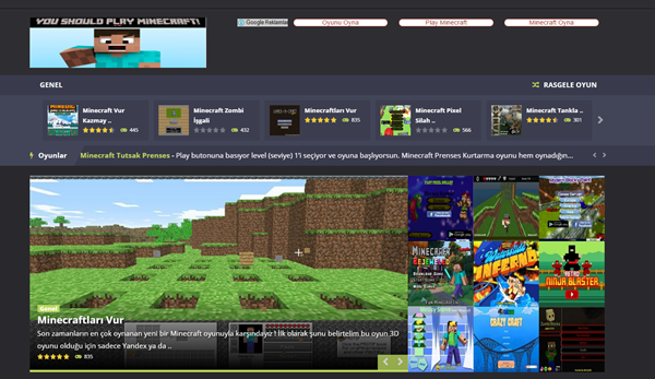 Minecraft Oyna Oyunu Minecraft Oyna Oyunu Indir Karisik Oyunlar Minecraft Oyunlar Oyun
