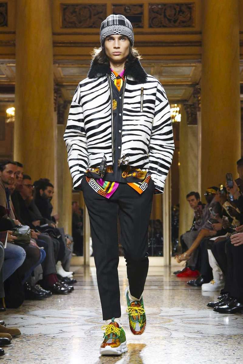 2d3c73ba8ce Male Fashion Trends  Versace Fall-Winter 2018-19