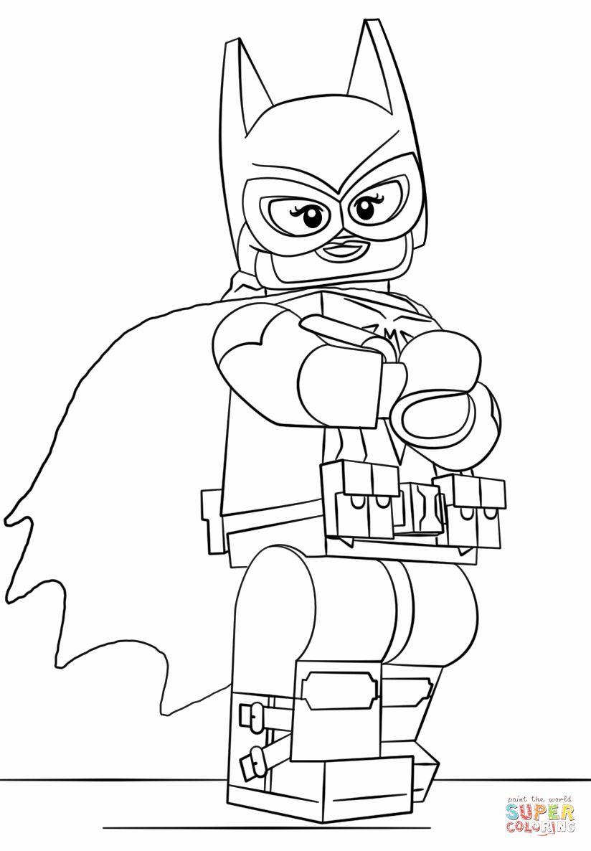 Lego Batman Coloring Page Luxury Lego Batgirl Coloring Page Batman Coloring Pages Superhero Coloring Pages Lego Coloring Pages