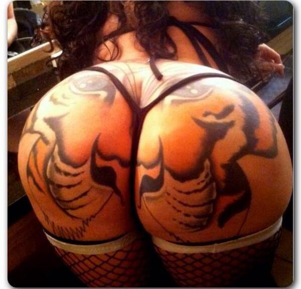 tiger booty