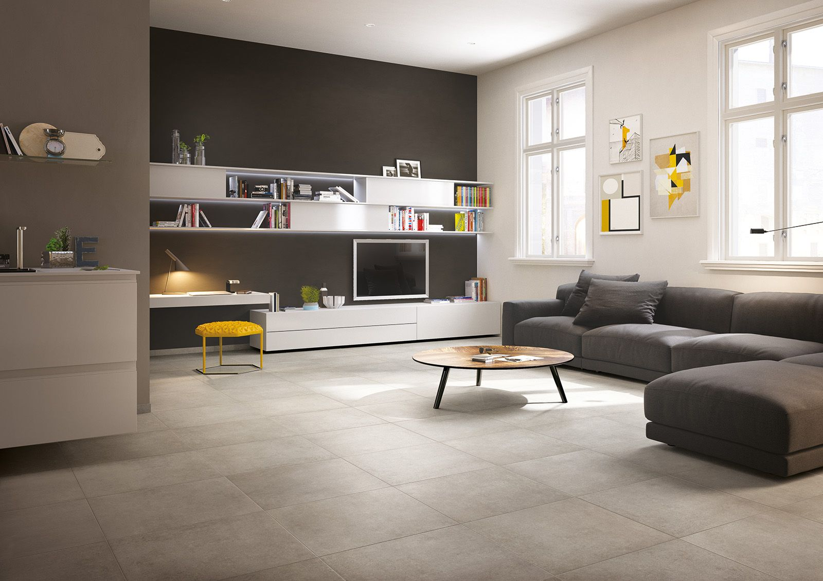Idee Per Pavimenti Interni : Midtown piastrelle in ceramica per interni living room
