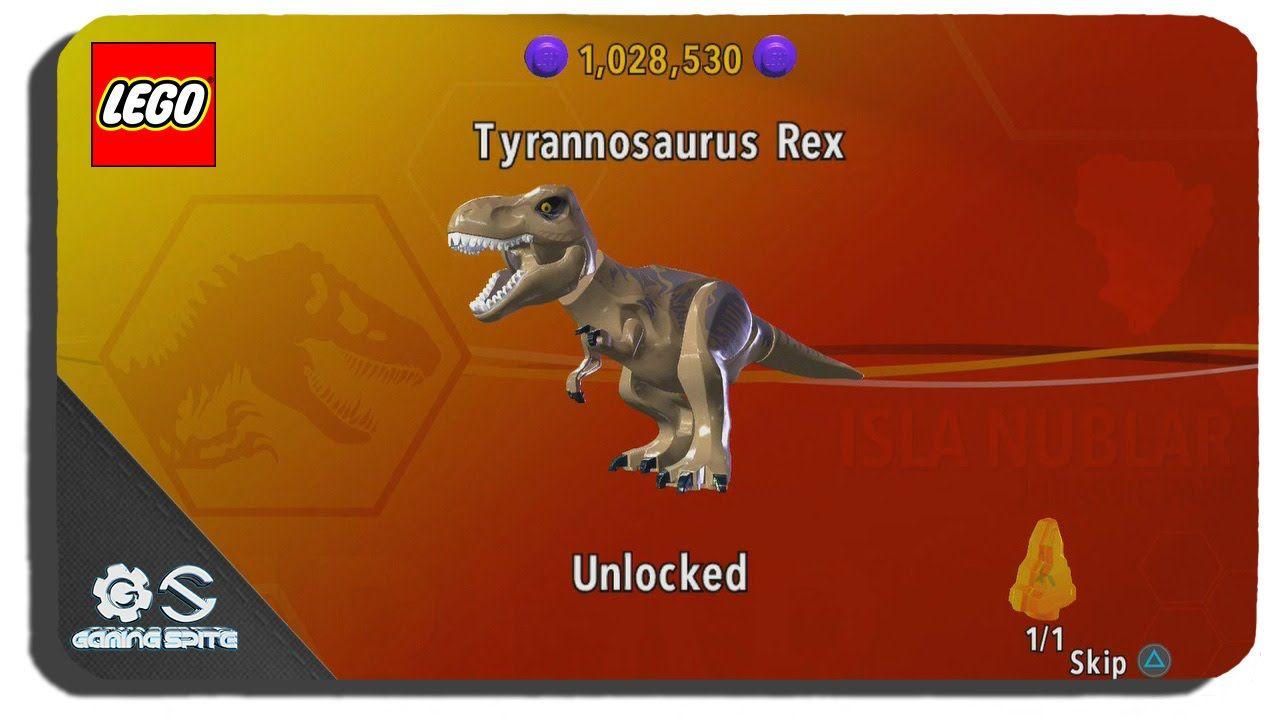 Lego Jurassic Unlock To Tyrannosaurus Rex How Dinosaur World TcJ3K1lF