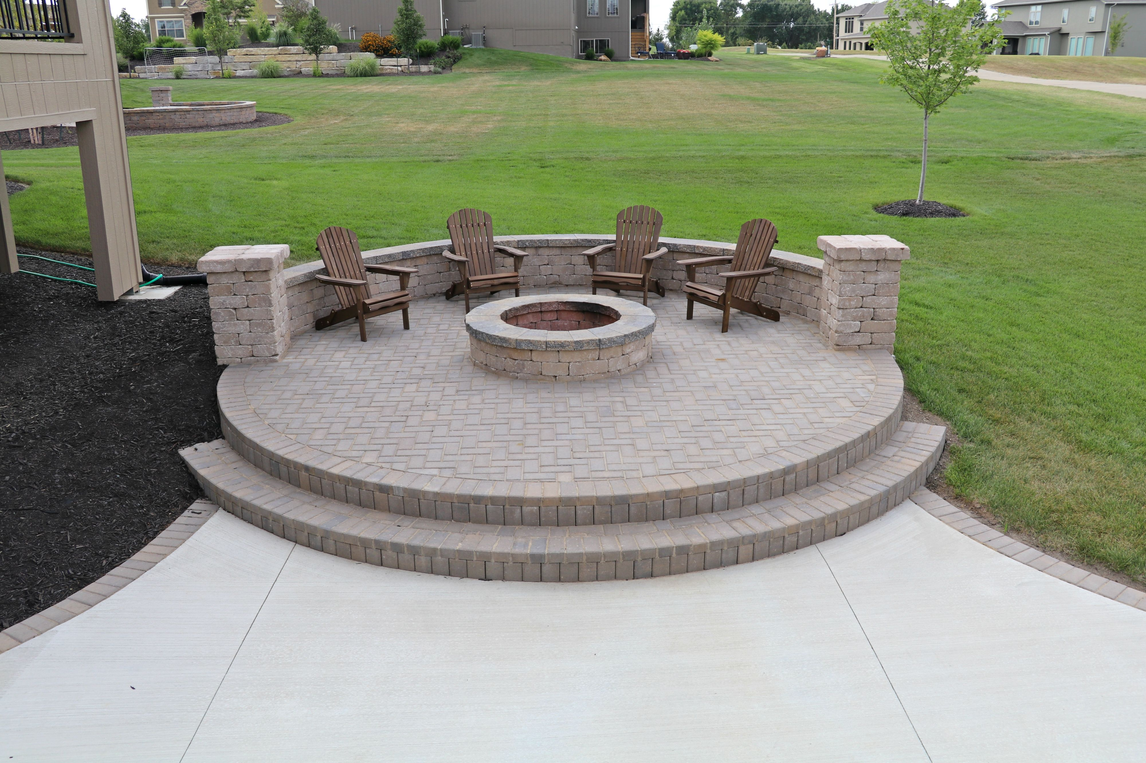 how cool is this hardscape basketball basketballcourt bball