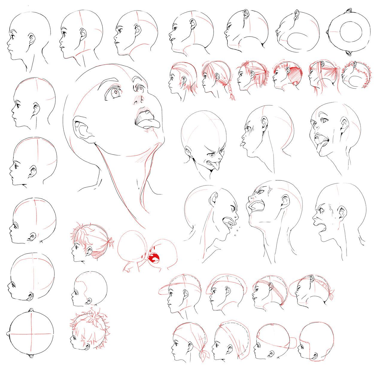 adriofthedead: carprediem: abbydoodles: Head & neck anatomy sheets ...