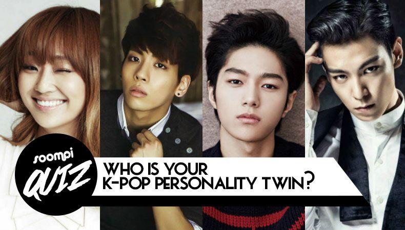 Quiz Who Is Your K Pop Personality Twin Kpop Quiz Pop Quiz Quiz