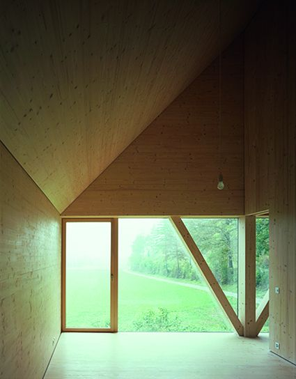 House In Balsthal Pascal Flammer Architecture Timber House Architecture House