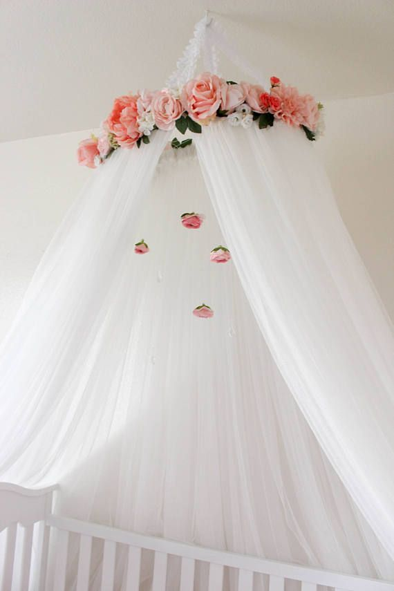 Baby Bedding Crib Netting Impartial Round Baby Bed Mosquito Net Dome Hanging Cotton Bed Canopy Mosquito Net Curtain For Hammock Baby Kids Anti-mosquito