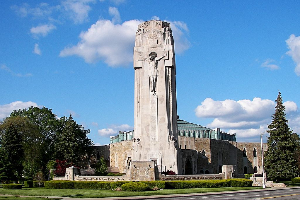 National Shrine of the Little Flower Catholic shrines